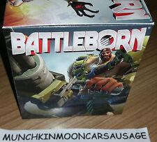 """Battleborn montana figurine en boîte promotionnelle lancer 3"""" 8cms figure gratuit uk p&p"""