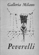 PEVERELLI Cesare, Le stanze I gabbiani I labirinti Les Paradisiers, 1964