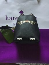 Jazz Things Up Cute Kate Spade Black Cat Coin /Change Purse