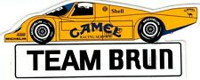 Team Brun Porsche Camel  Sticker Aufkleber