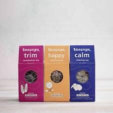 Tea Bags - Tea Pigs - 15 Biodegradable Tea Temples - Feel Good Bundle 2