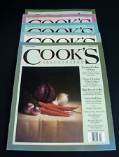 Cook's Illustrated-Lot of 5 Issues  1996