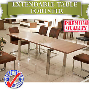 SOLD OUT Modern Extendable Dining Table Premium MDF - FORESTER