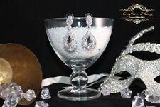 Mode-Ohrschmuck im Hänger-Stil aus Glas mit Durchzieher
