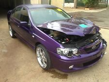 FORD FALCON XR8 SEDAN 260KW MOTOR 5 SPEED MANUAL DAMAGED STATUTORY WRITE OFF