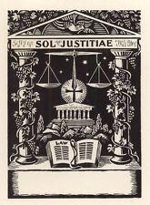 Ex Libris Thijs Mauve : Opus 129, Sol Justitiae