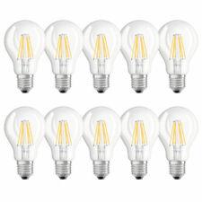 10 x Osram LED Filament Birnenform A60 8W = 75W E27 klar 840 neutralweiß 4000K