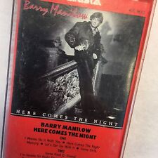 Barry Manilow Cassette Tape Here Comes the Night, 1982 Arista, classic Manilow