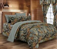 The Woods GRAY CAMO KING SIZE CAMOFLAGE COMFORTER 1pc