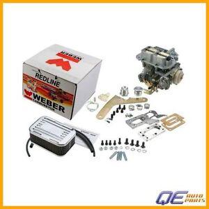 Weber Redline Kit Carburetor Fits: Pickup Ram 50 Dodge Caravan Colt Arrow 89 D50