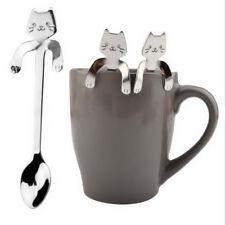 Tools Flatware Cooking Tools 1 Piece Cute Long Handle Spoons Cat Spoon