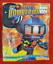 Atomic Bomberman (PC, 1997) NEW Sealed PC Game Big Box INTERPLAY Action Arcade