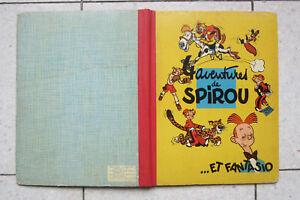 quatre aventures de  EO  1956 spirou et fantasio  TBE