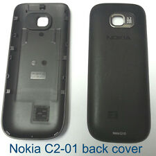 100% Genuine Original Nokia C2-01 Fascia back cover housing - Black