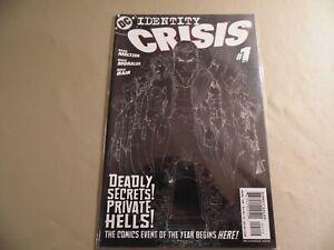 Identity Crisis #1 (DC 2004) 2nd Print / Free Domestic Shipping