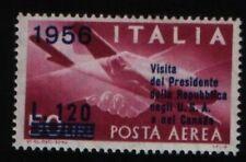 Francobolli della Repubblica italiana dal 1956 al 1964 posta aerea
