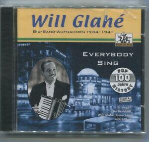 CD Will Glahe: Everybody Sing - Big Band Aufnahmen 1934 - 1941 (2002)