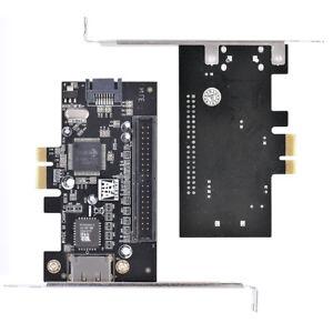 Scheda adattatore da PCI-E PCI Express a IDE ATA133 + SATA II + ESATA Raid