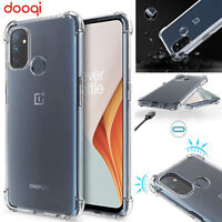 For OnePlus Nord N100/ N10 5G Shockproof TPU Clear Case+Tempered Glass Protector