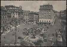 cartolina ROMA piazza barberini