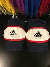 New Size large Adidas Freak Custom Elbow pads navy/red/white Msrp $60