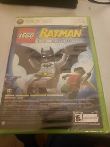 """NEW XBOX 360 """"LEGO BATMAN & PURE"""" DUAL PACK VIDEO GAME FACTORY SEALED"""