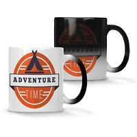 Adventure time camping Colour changing 11oz Mug v352w
