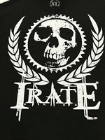Irate Skull XL Mens T Shirt Black Extra Large XL