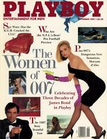 PLAYBOY SEPTEMBER 1987 Gwen Hajek Maryam d'Abo Penn & Teller Women of 007 MLR