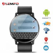 "Lemfo LEMX SmartWatch Android 16G GPS Cámara 4G SIM Podomètre 2.03"" Bluetooth"