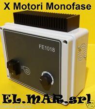 Inverter x Motore Elettrico Monofase HP 1 KW 0,75 FE1018 regolatore di giri