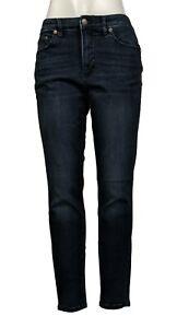 Colleen Lopez Women's Jeans Denim Skinny Indigo Size 12