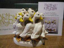 Harmony Kingdom Faithful Followers Ducks Uk Made New Orleans Reunion Evt Pc Sgn