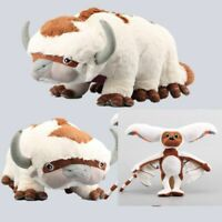 2pcs Avatar the Last Airbender Appa & Momo Plush Doll Stuffed Animal Toys Gift