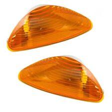 INTERNATIONAL 3200 3300 4100 4200 4300 HOOD MOUNTED PARK SIGNAL LIGHT LAMP PAIR