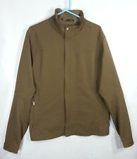 NAU Mens L Brown Softshell Jacket