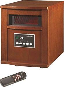 Homebasix WH-96H Electric Heaters Quartz -Infrared Cherry