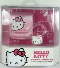 HELLO KITTY KT4700 Bluetooth Headset Kit, with car/wall charger and pouch
