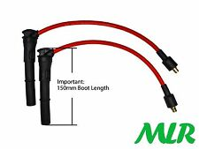 8MM RED SILICONE IGNITION HT LEADS ROVER 25 45 75 MGF MGTF MGZR MGZS MGZT MLR.CE