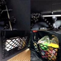 1pc Tuck Net String Bag Pocket For Benz Smart Fortwo 451 2009-2014 Black