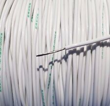 50' Foot, 18 AWG Gauge Copper Nickel Wire, Teflon PTFE High Temp Stranded Cable