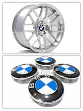 4 x BMW Alloy Wheel Centre Caps Badge Emblems 68mm Fits 1, 3, 5, 6, 7, Series X5