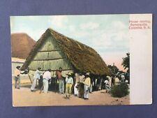 ±1901 Postcard COLOMBIA BARRANQUILLA HOUSE MOVING - MOVIENDO LA CASA