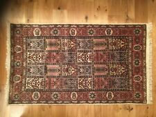 New Hand-Made Silk Traditional Bakhtiari Rug (3 x 5 ft)
