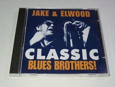 Jake & Elwood - Classic Blues Brothers 1998 UK Import CD XCLNT Tribute Act HTF