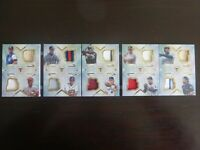 2018 Topps Triple Threads Deca Threads Relic Combo Legends #/10