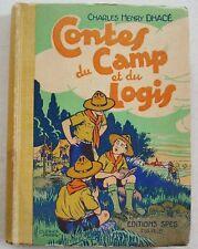 Contes du Camp et du Logis Charles Henry DHACE éd SPES Ed Scout 1935