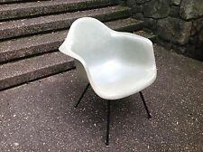 VINTAGE Eames SEAFOAM GREEN Herman Miller X-BASE Arm Chair MAX ARMSHELL 1954