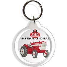 INTERNATIONAL HARVESTER 240 UTILITY FARM GARDEN TRACTOR KEY RING KEYCHAIN CHAIN