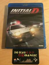 Initial D: Theatrical Collection movie 1 2 3 / NEW anime on Blu-ray